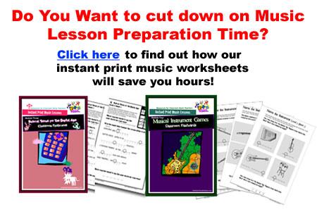 Cut Down music lesson preparation time