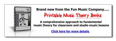 Printable Music Theory BOoks