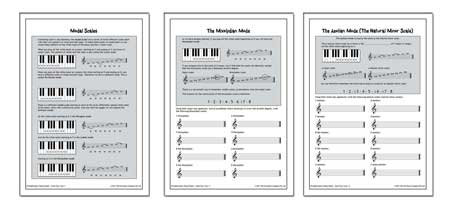 Section 2 Modal Scales