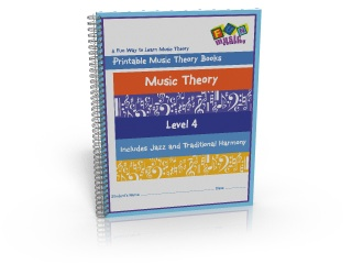 Printable Music Theory Books Level Four