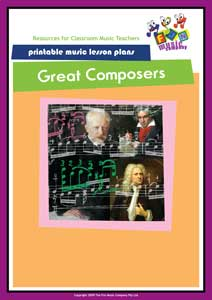 Great Composers Music Lesson Plans
