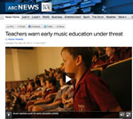 ABCNewsMediaArticle Music Education In The Media