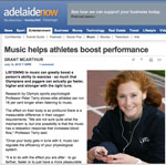 AdelaideNowMediaArticle Music Education In The Media