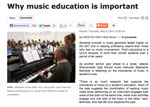IowaNews Music Education In The Media