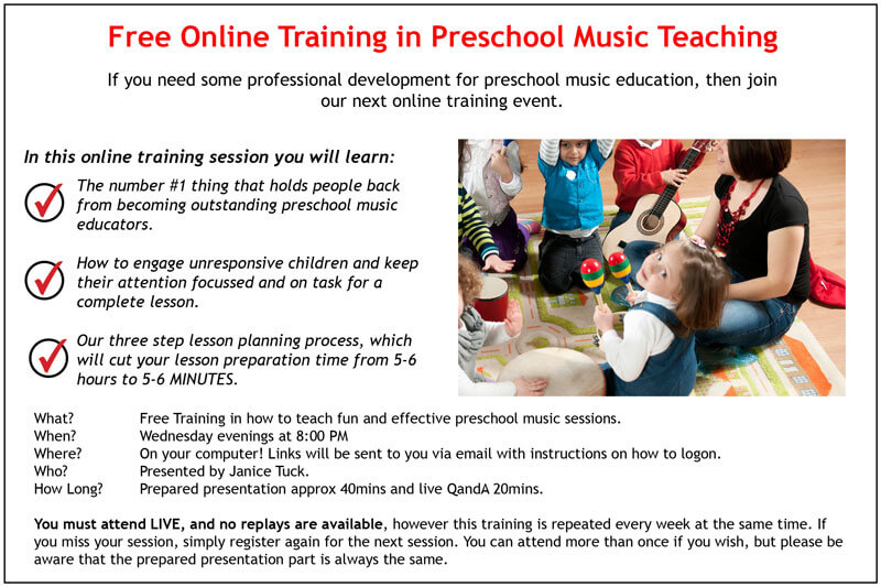 Learn more about our next training session