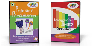 Percussion and Boomwhacker Package