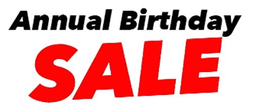 Annual Sale 2016