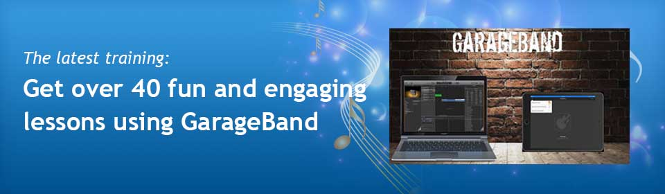 Slide 2 – GarageBand