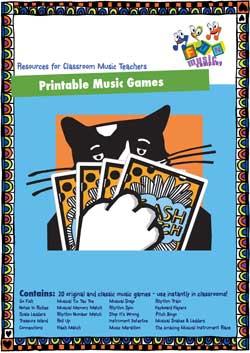 Printable Music Games