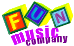 Fun Music Company Development Logo