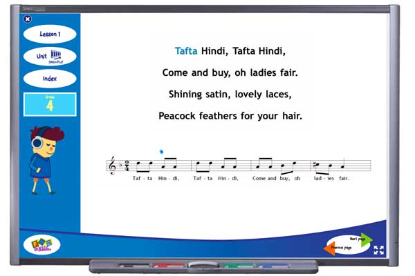 Tafta Hindi Song for Grade Four